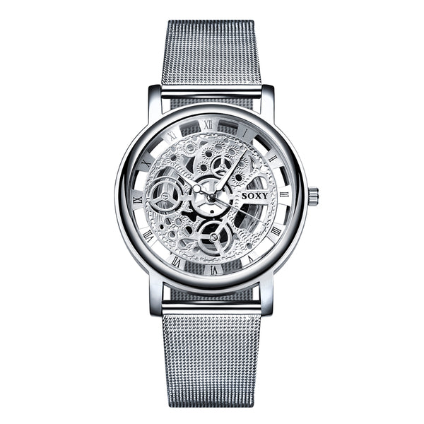 Silver Men's Wrist Watch