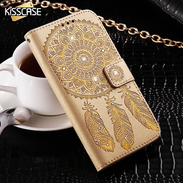 Diamond Case with Card Slot Wallet for the Samsung Galaxy