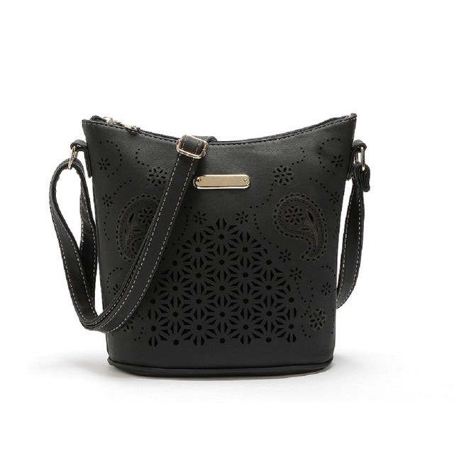 Medium Capacity Bucket Shoulder Bag
