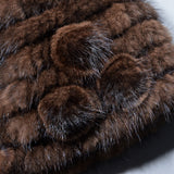 Real Mink Fur Hat