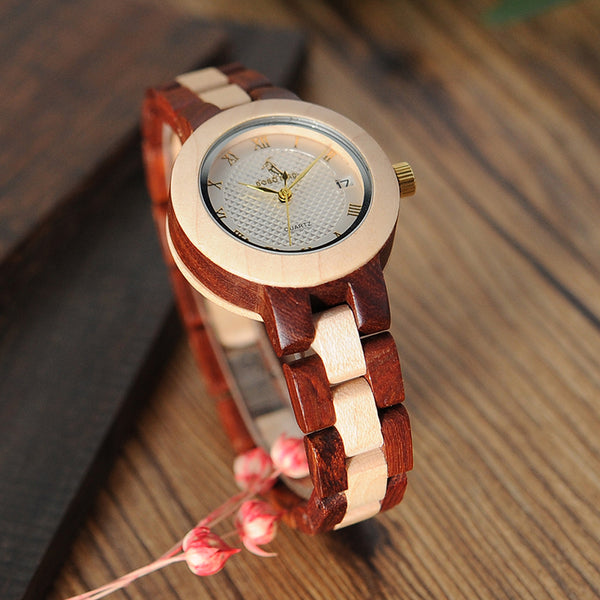 Bamboo & Rose Sandal Watch