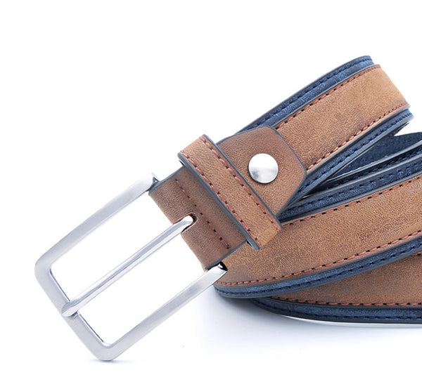 Casual Patchwork Men's Designers Belt