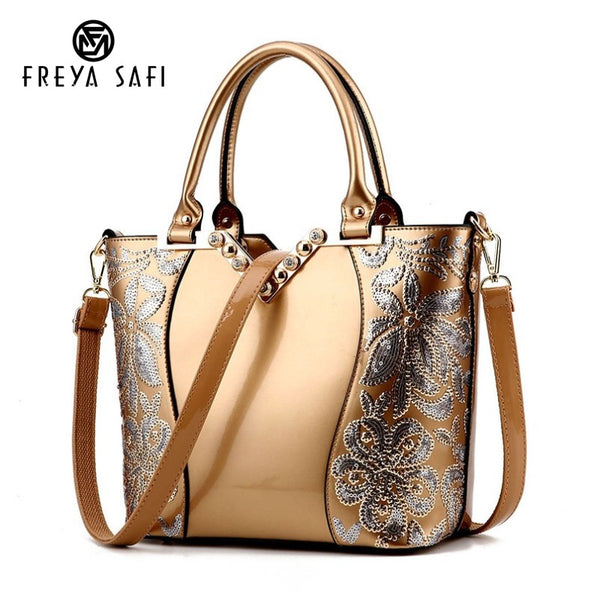 Luxury Sequin Embroidery Women's Bag
