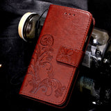 Butterfly Flip Leather Case For Samsung Galaxy