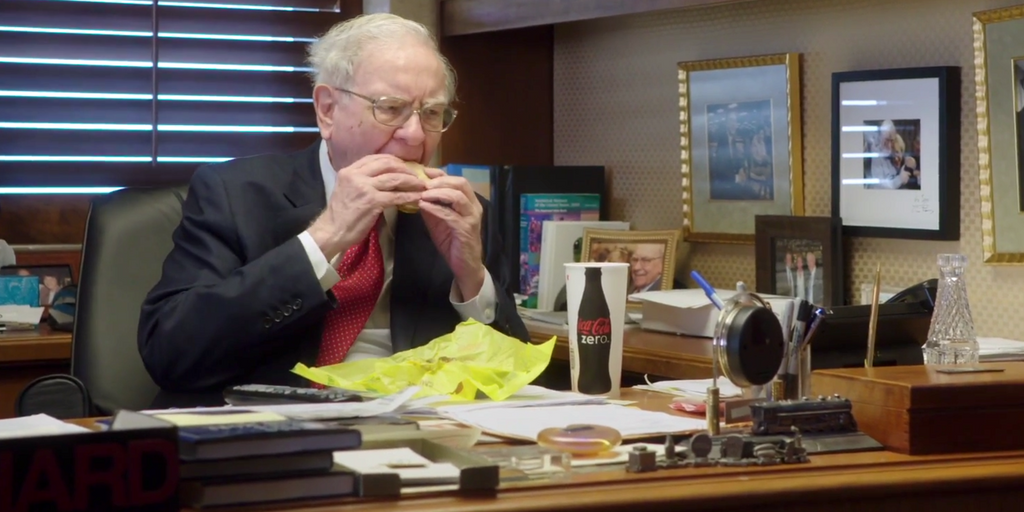 warren buffet breakfast