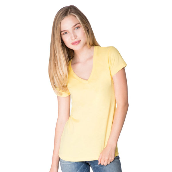women's ideal v-neck tee