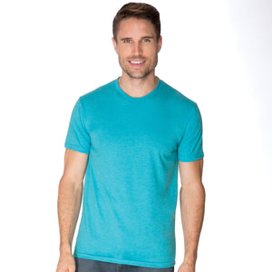 Men's Premium CVC Crew Neck T-shirt