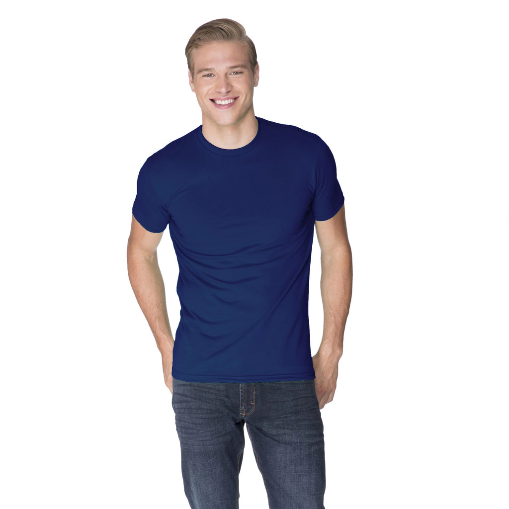 Men's Sueded Crew Neck T-shirt