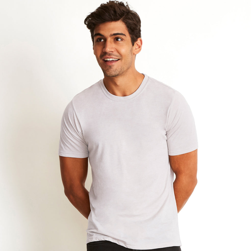 Men's Poly / Cotton Crew Neck T-shirt