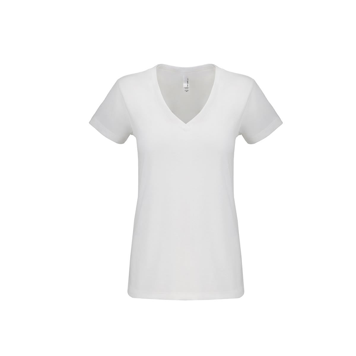 Women's Sueded V-neck T-shirt