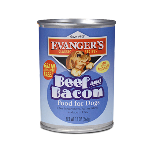 EVANGERS BEEF & BACON 13OZ