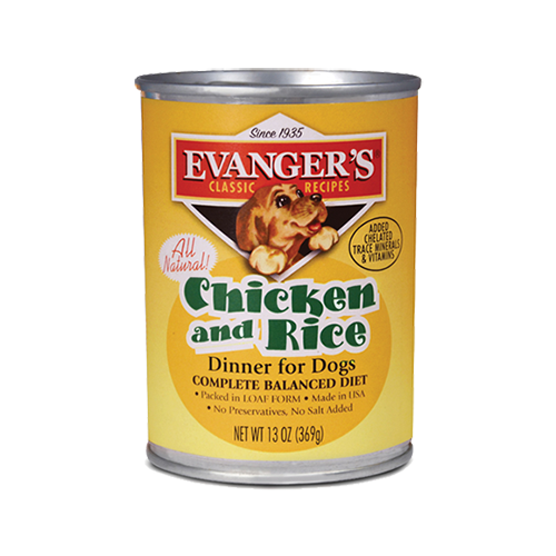 EVANGERS CHICKEN & RICE DINNER 13OZ