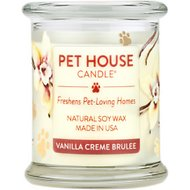 PET HOUSE VANILLA CREME BRULEE CANDLE
