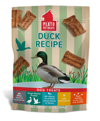 PLATO DUCK RECIPE TREATS