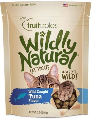 FRUITABLES WILDY NATURAL TUNA CAT TREATS