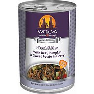 WERUVA DOG STEAK FRITES 14OZ CAN