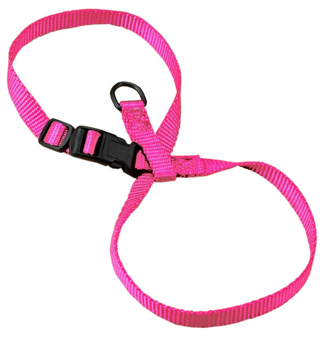 HAMILTON ADJUSTABLE FIGURE 8 CAT HARNESS HOT PINK