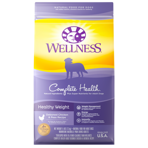 WELLNESS COMPLETE HEALTH DOG HEALTHY WEIGHT