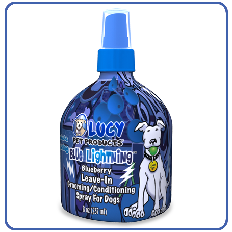 LUCY PET BLUE LIGHTNING LEAVE-IN CONDITIONING SPRAY