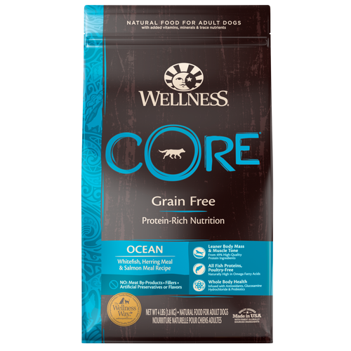 WELLNESS CORE DOG OCEAN