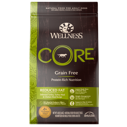 WELLNESS CORE DOG REDUCED FAT