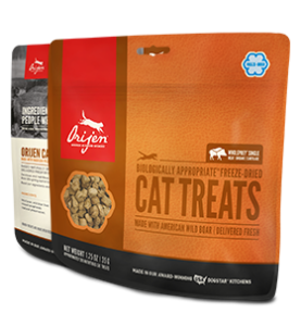 ORIJEN FREEZE DRIED BOAR CAT TREATS