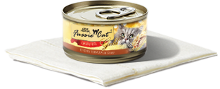 FUSSIE CAT CHICKEN IN GRAVY 2.82OZ CAN