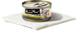 FUSSIE CAT TUNA WITH MUSSELS 2.82OZ