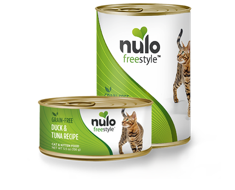NULO FREESTYLE CAT DUCK AND TUNA 5.5OZ CAN