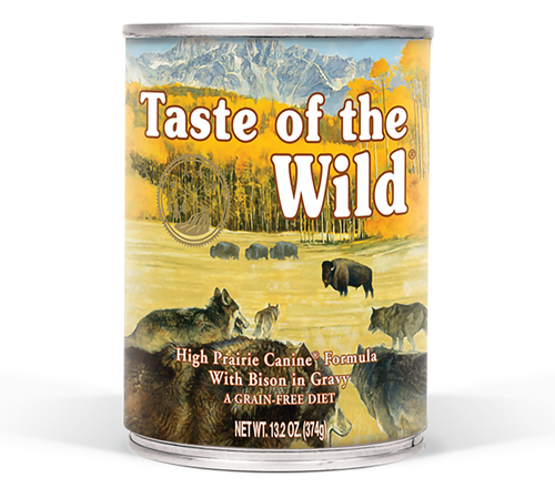 TASTE OF THE WILD HIGH PRAIRIE 13OZ CAN