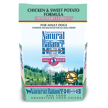 NATURAL BALANCE L.I.D. CHICKEN & SWEET POTATO FORMULA SMALL BREED BITES