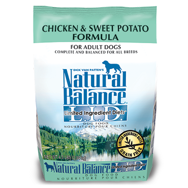 NATURAL BALANCE L.I.D. CHICKEN & SWEET POTATO FORMULA