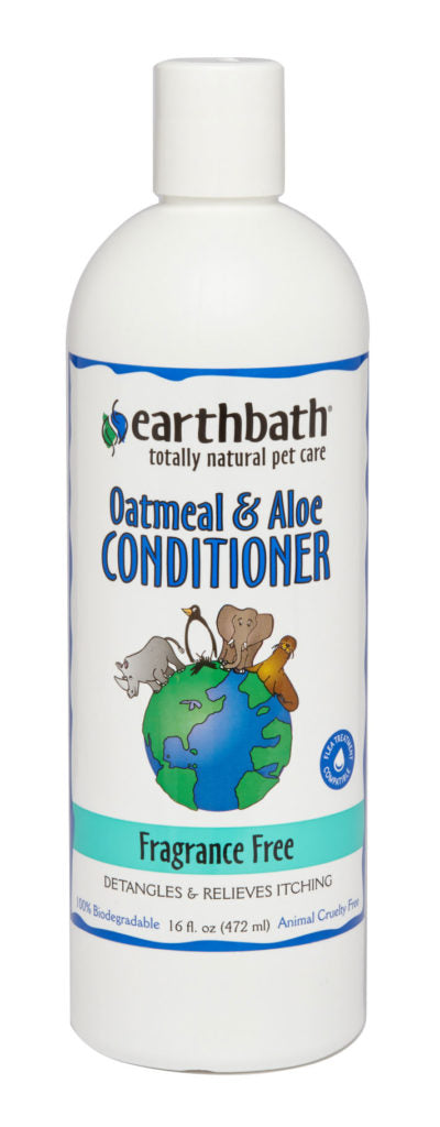 EARTHBATH FRAGRANCE FREE OATMEAL & ALOE CONDITIONER