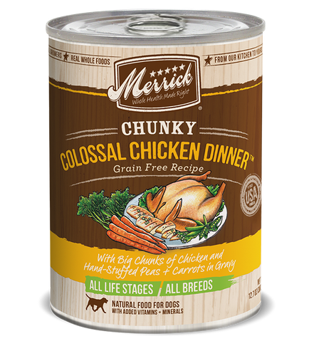 MERRICK CHUNKY COLOSSAL CHICKEN 13OZ