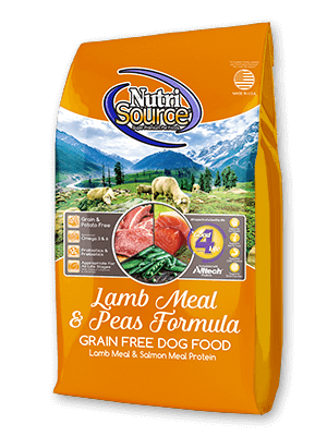 NUTRISOURCE LAMB MEAL & PEAS
