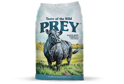 TASTE OF THE WILD PREY DOG BEEF FORMULA