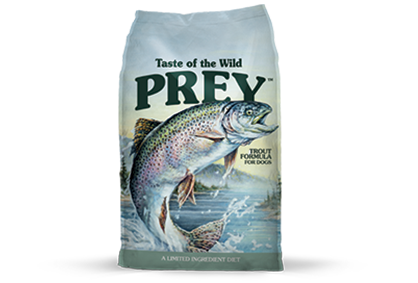 TASTE OF THE WILD PREY DOG TROUT FORMULA
