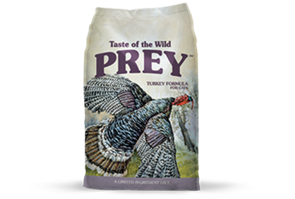TASTE OF THE WILD PREY CAT TURKEY FORMULA