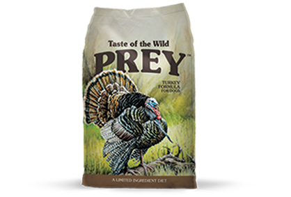 TASTE OF THE WILD PREY DOG TURKEY FORMULA