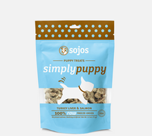 SOJOS SIMPLY PUPPY DOG TREATS TURKEY & SALMON