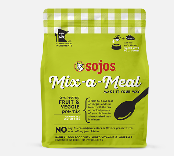 SOJOS MIX-A-MEAL GRAIN FREE PRE-MIX