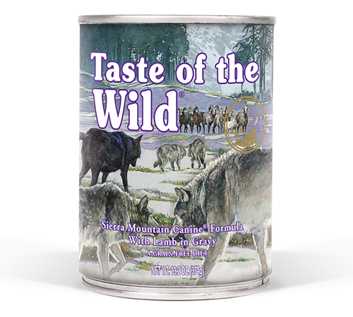 TASTE OF THE WILD SIERRA MOUNTAIN 13OZ CAN