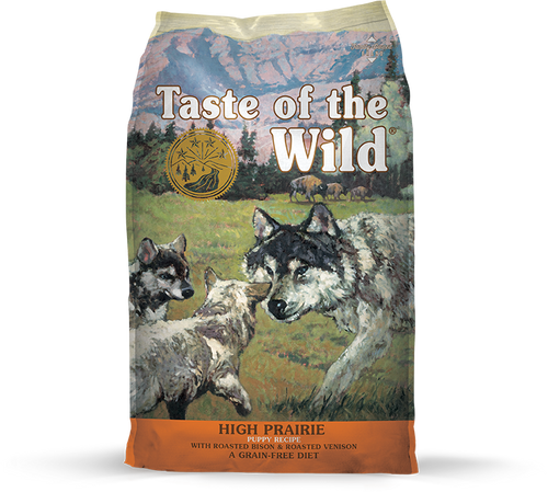 TASTE OF THE WILD HIGH PRAIRIE PUPPY RECIPE
