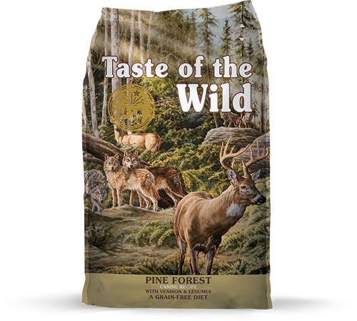 TASTE OF THE WILD PINE FOREST CANINE RECIPE