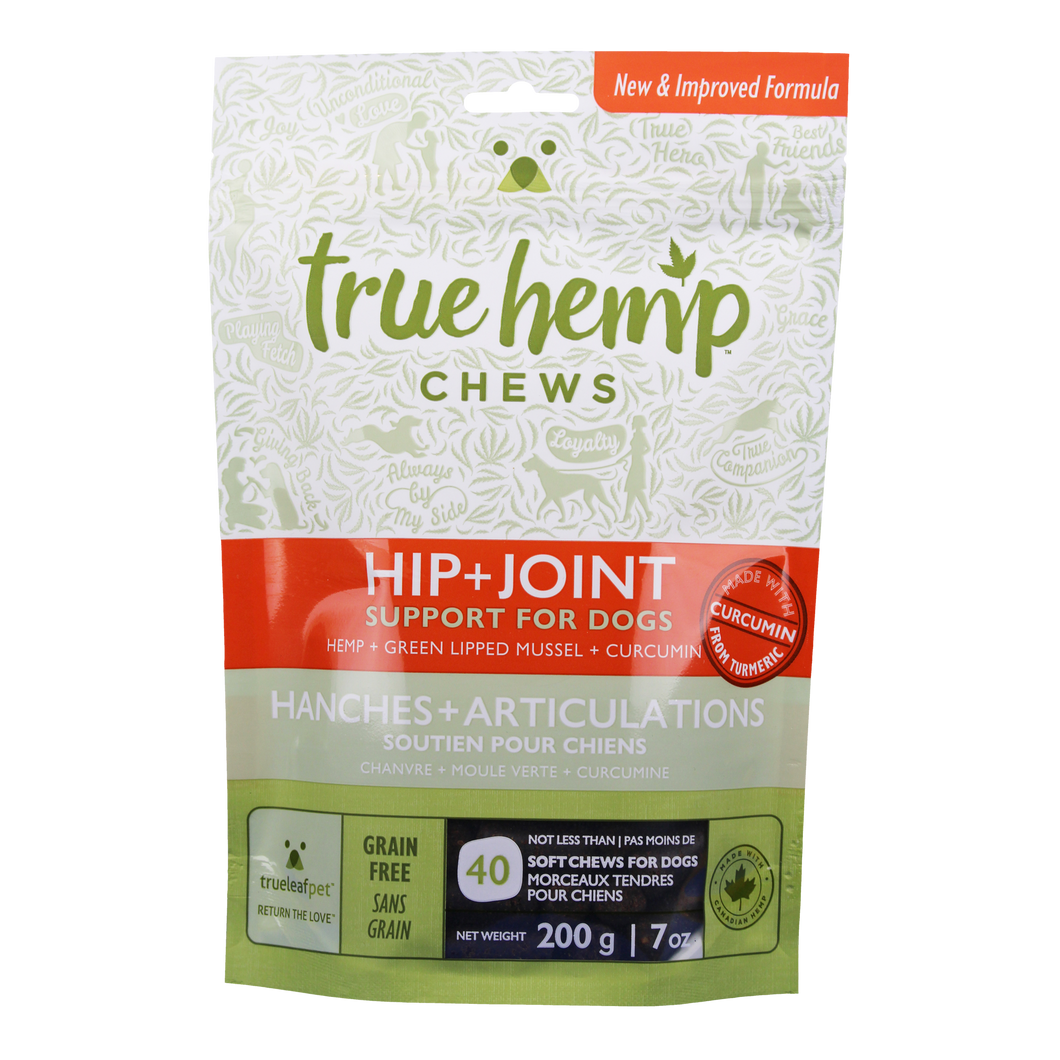 TRUE HEMP HIP+JOINT CHEWS 7OZ