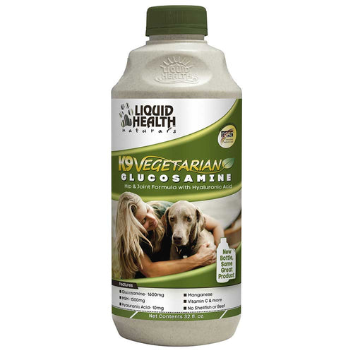 LIQUID HEALTH K9 VEGETARIAN GLUCOSAMINE
