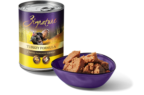 ZIGNATURE TURKEY FORMULA DOG CAN 13OZ