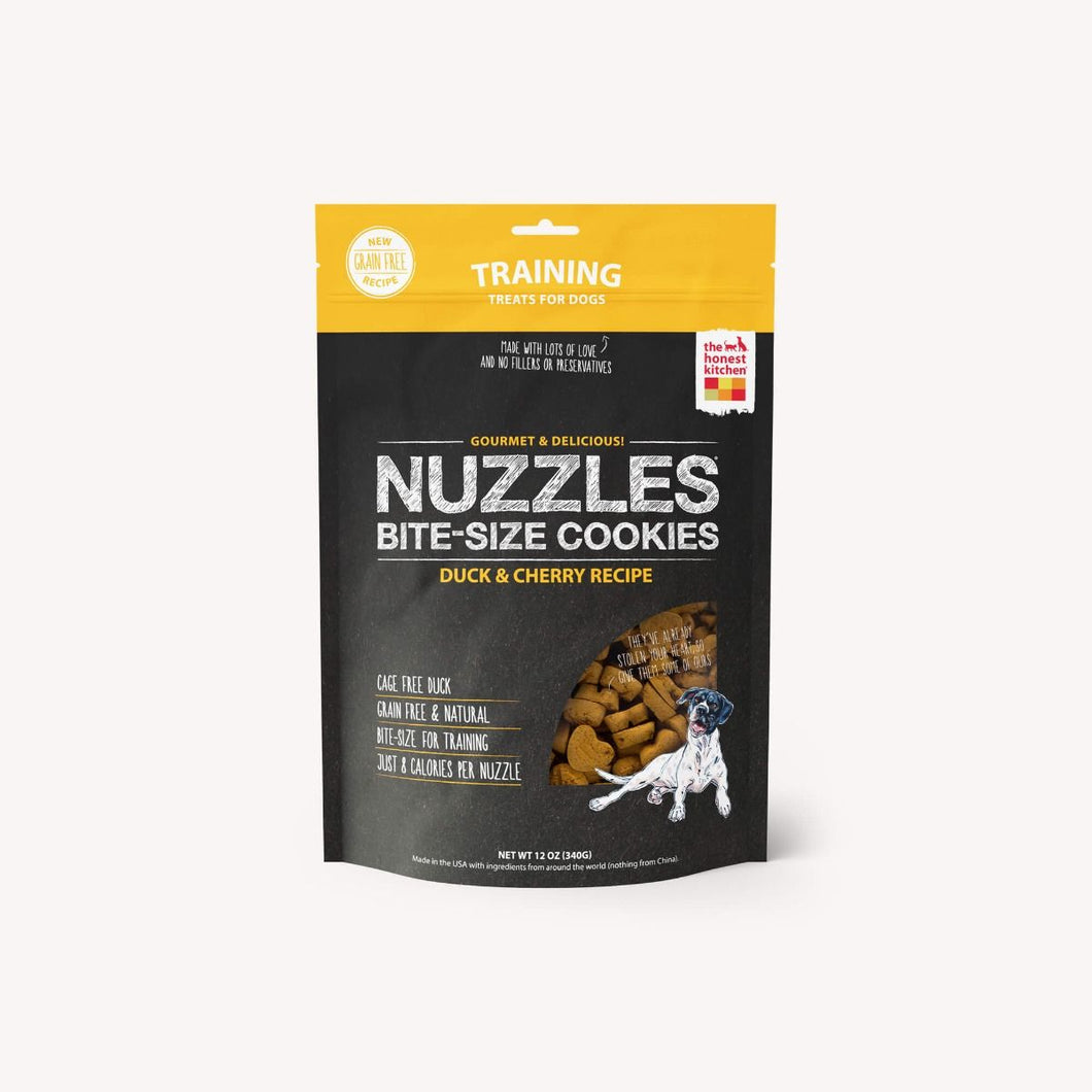 THE HONEST KITCHEN NUZZLES DUCK BITE SIZED COOKIES