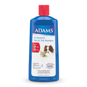 ADAMS D-LIMONENE FLEA & TICK SHAMPOO FOR DOGS AND CATS