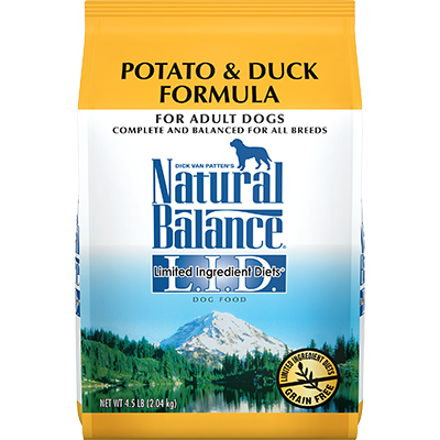NATURAL BALANCE L.I.D. POTATO & DUCK FORMULA